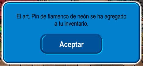 pin flamenco neon 3